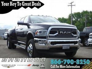 2017 Ram 3500 Longhorn - Low Mileage, Heated Seats, Leather Stee