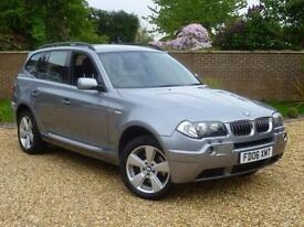 2006 BMW X3 3.0d auto Sport + HEATED LEATHER + CRUISE + P/SENSORS