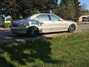 2003 Mercedes S55 AMG Supercharged