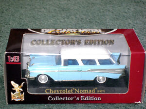 1957 Chevy Nomad wagon in 1/43 (o) scale, new-in-box