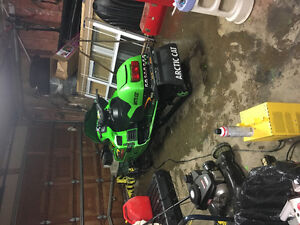 99 zl 600 for sale or trade for atv/dirt bike