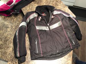Manteau de motoneige Choko noir