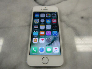 Apple iPhone 5s - 16GB - Silver (Bell/Virgin)