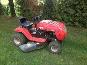 MTD 13/38 RIDING MOWER