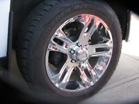 20 inch GM 4X4 WHEELS AND  COOPER AT3 TIRES