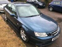 2006 Saab 9-3 1.9TiD ( 150bhp ) Vector Sport Superb. Mot. Tax. 1 Owner. LEATHER