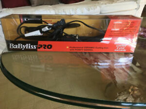 """Ceramic Curling Iron with pointy barrel 1/2"""" to 1"""" by BaByliss"""