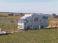 7.5t Iveco CRG80E18 Horsebox with full living