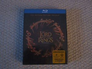 The Lord Of The Rings The Motion Picture Trilogy Blu-ray Disc