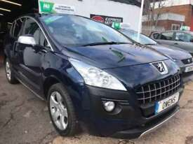 2010 (10) PEUGEOT 3008 2.0 HDI EXCLUSIVE 5DR