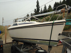 1990 HUNTER SAILBOAT