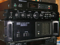 Nikko Stereo Amplifier and Preamplifier