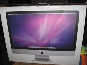 """2010  27"""" imac in excellent condition"""