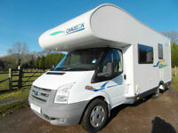 Chausson Flash 03 - Rear Bunk Beds - 6 Berth and Belts