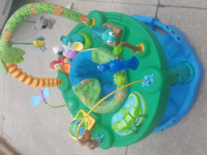 Fisher price baby swing and exersaucer