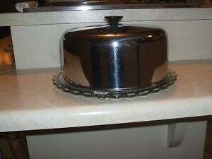cloche  a gateau en stainless