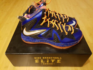 Nike Lebron X 10 PS Elite Bball shoes NEW (579827-400) size 10.5