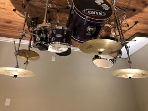 Drum Set, Cymbals and Hardware