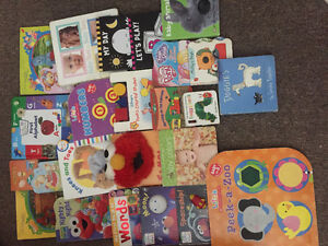 25 infant/toddler books good for ages 0-2yrs