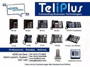 Téléphones Nortel Meridian Norstar Remis à Neuf en boite. Garantie 1 an. (514) 777-8500 Pour tous vos besoins en Telecom