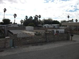 RV Lot In Yuma Foothills For Rent
