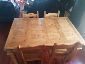 Santa Fe Rustico Table and Chairs for sale