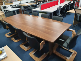 Boardroom Meeting Tables, New and Used, huge Glasgow Showroom