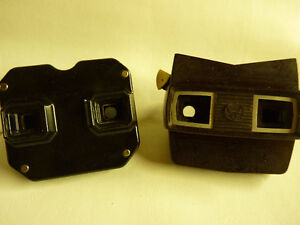 Vintage Viewmaster (Sawyer's)  2 viewers and multi reel set