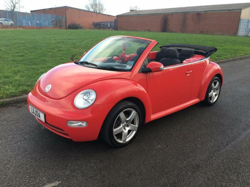 volkswagen beetle 1 6 2003 convertible low miles only 62k. Black Bedroom Furniture Sets. Home Design Ideas