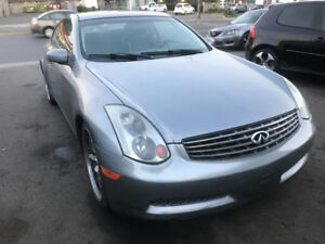 2005 INFINITI G35 2DR COUPE
