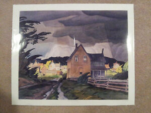 "A.J. Casson Limited Edition ""Approaching Thunderstorm"" Stratford Kitchener Area image 5"