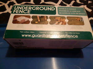 NEW guardian underground fence AND guardian training collar