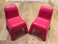 2 X Childrens Chairs