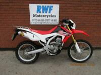 HONDA CRF 250 L 2016 MODEL, ONLY 3,140 MILES, VGC, LOTS OF EXTRAS, 12 MONTHS MOT