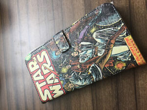 Étui porte feuille iPhone 6 Plus Star wars. Neuf.