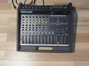 "Console de mixage Tapco ""the entertainer"""