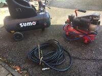 Sumo and Clarke air compressor