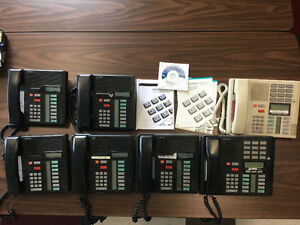 Nortel BCM 50 + Expension G4X16 + 6 Postes + 1 réceptionniste900