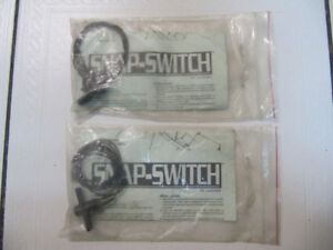 Classic Auto Specialties Snap Switch For Alarms, Lights and More