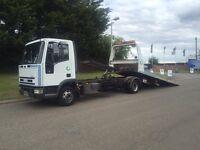 2000 X Reg Iveco Euro cargo 75E15 6cylinde tilt slide recovery spec lift low miles
