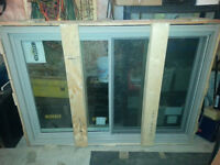 High quality double hung window with brick moulding