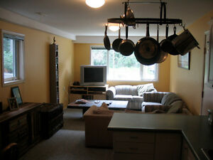 Great 1 bed backing onto treed reserve downtown