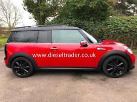 Mini Clubman 2.0 Cooper D 112bhp Chili Auto RED DIESEL ESTATE SAT NAV