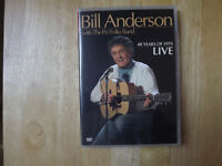 """FS: Bill Anderson """"40 Years Of Hits LIVE"""" DVD"""