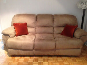 Sofa and chair recliner