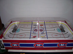 JEU DE HOCKEY TABLE HOCKEY LNH GAME BOARD COLECO GAME ROOM
