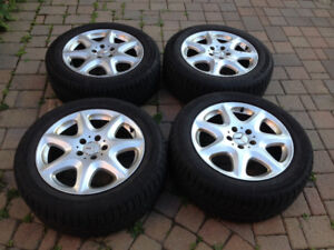 "FOR SALE: Mercedes-Benz S-Class 17"" Alloy Rims + Michelin X-Ice"