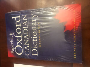 Canadian Oxford Dictionary Paperback - NEW