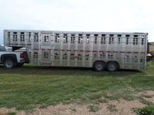 Wilson 24' Double Deck Livestock Trailer