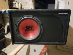 """12"""" MTX Sub In Box For Sale"""